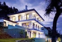 Smarte Villa mit KNX-System von Gira