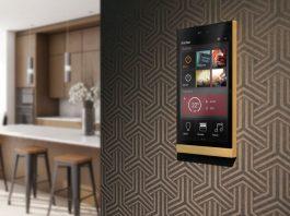 Ellie touch Display von Basalte Home KNX-Smart-Home-System