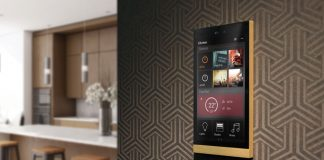 Ellie touch Display von Basalte Home KNX-Smart-Home-System