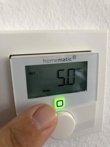 Übermittlung Temperatur Access Point von Homematic IP von eQ-3