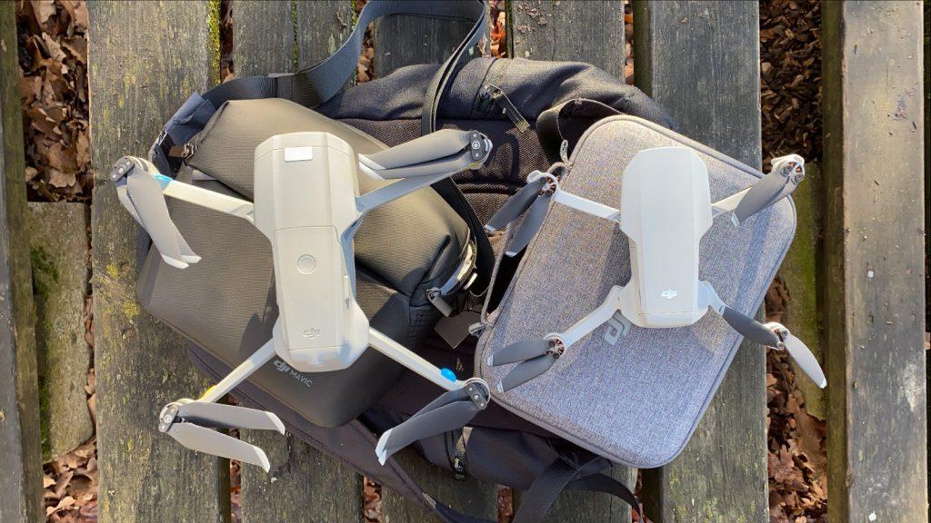 Drohnen am Boden