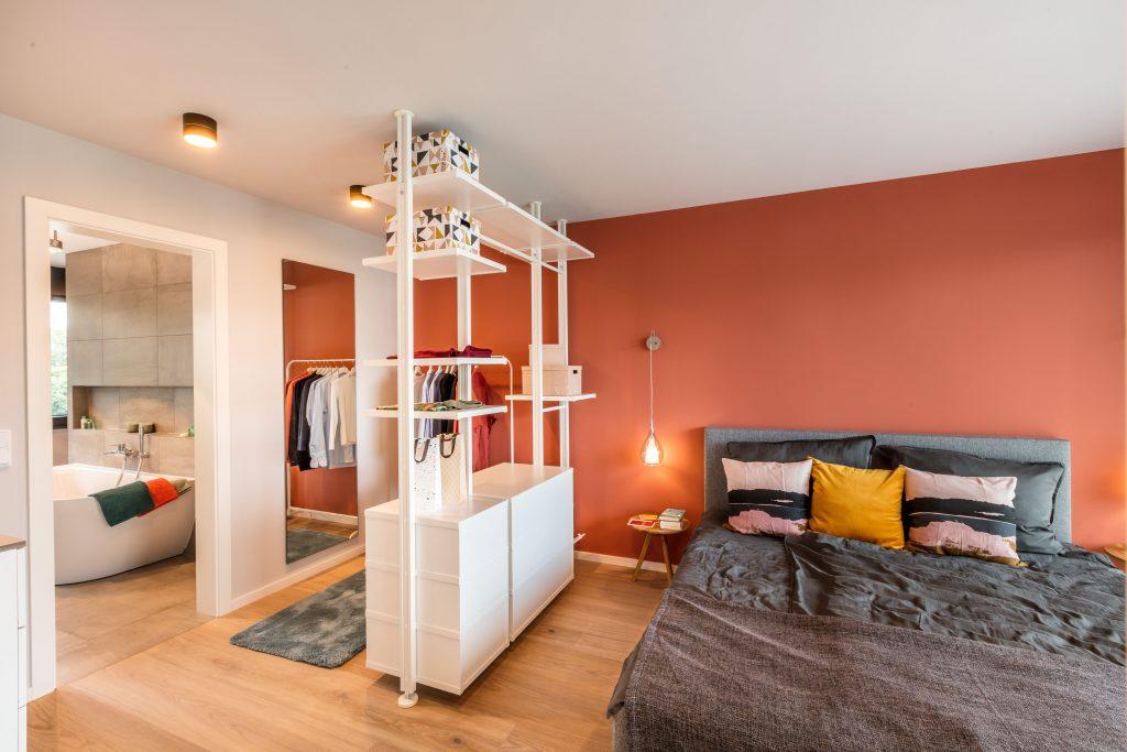 """Schlafzimmer im Musterhaus """"Fusion"""""""
