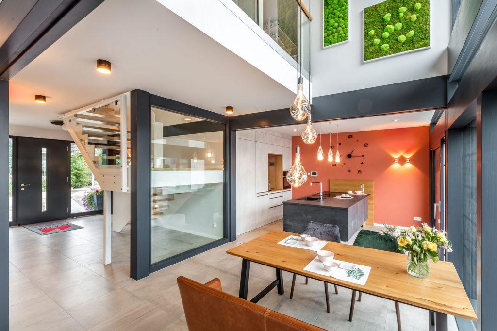 Küche im Musterhaus Fusion