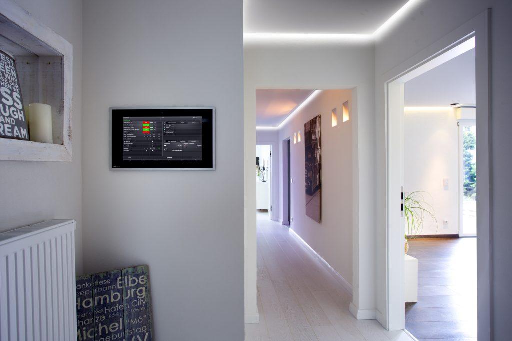 Gira Panel Smart Home